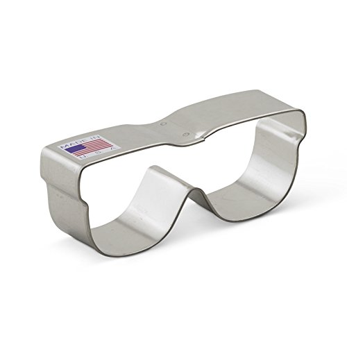 Ann Clark Sunglasses Cookie Cutter - 3.5 Inches - Tin Plated Steel