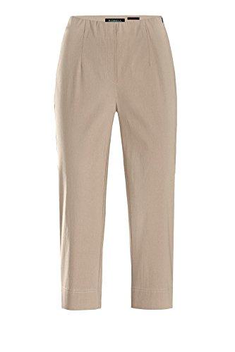 Robell Marie 07- Pantalones elásticos, corte slim, para mujer, color capri Beige