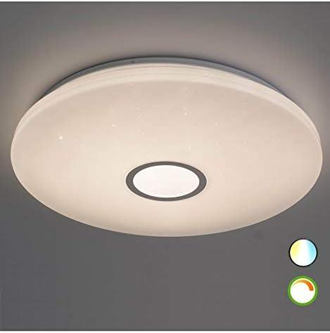 Moderne Plafonnier Lampe pour salle de bains avec ampoules DEL 6 W 310 LM /& 3000k Blanc Chaud Bon état
