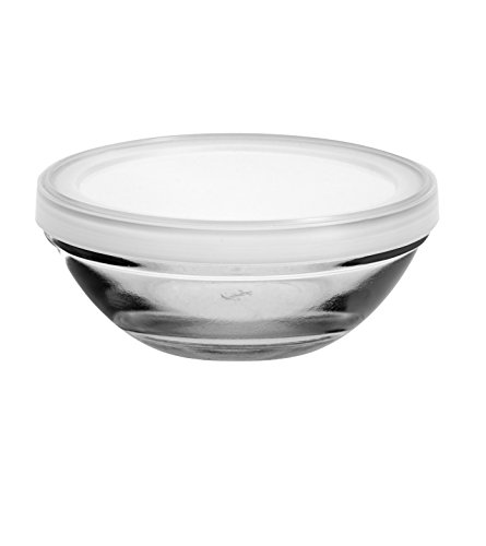 Get Anchor Hocking 3-Piece Nesting Pinch Bowls with Lids, Stainless Steel deliver