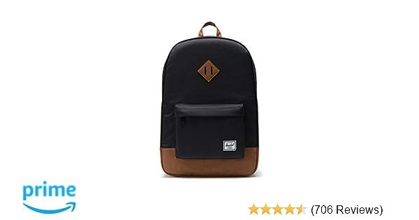 Amazon.com   Herschel Heritage Backpack-Black   Casual Daypacks 2a64f4ec98