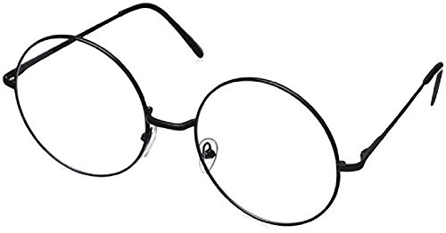 Lennon/Harry Potter Style Black Metal Circle Round Glasses Halloween Party - Glasses Harry Potter Prescription
