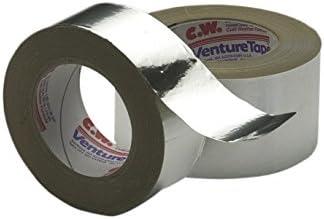 3M Venture Tape Aluminum Foil Tape 1520CW Natural Aluminum, 48 mm x 45.7 m 1.8