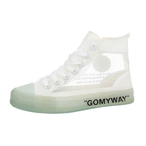 Ital Weiß G Sneaker 169 Donna design 4qgpBxr4w