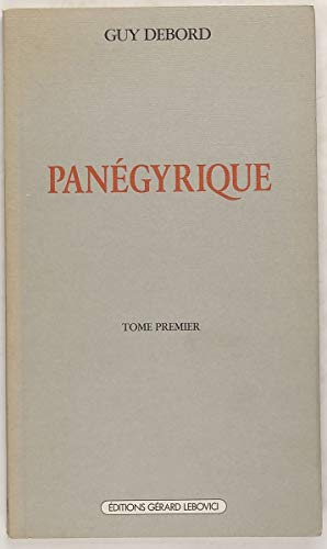 [D0wnl0ad] Panégyrique (Champ libre) (French Edition) KINDLE