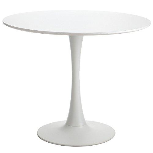 Polyvaz Saarinen Style Tulip Table, White