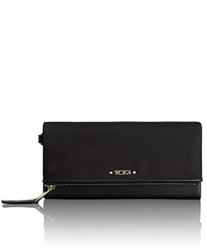 TUMI Voyageur Flap Continental Wallet - Card Holder for Women,Black ()