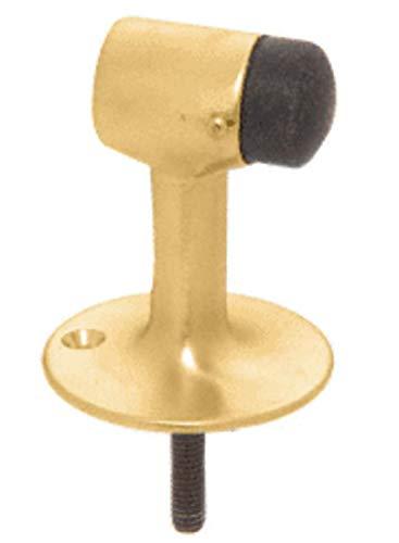 CRL Polished Brass Finish Floor Mounted Heavy Duty Door Stop