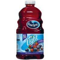 - Ocean Spray Light Juice Drink Cran - Grape - 8 Pack