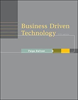 Business Driven Technology 4th Edition Pdf