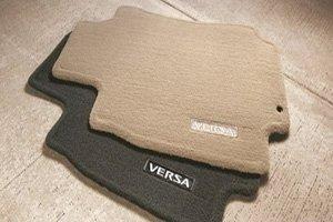 Amazon Com 2013 Nissan Versa Sedan Carpeted Floor Mats 4