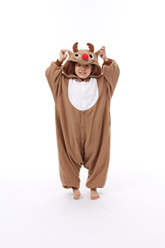 Reindeer Kids Kigurumi (2-5 Years) ]()