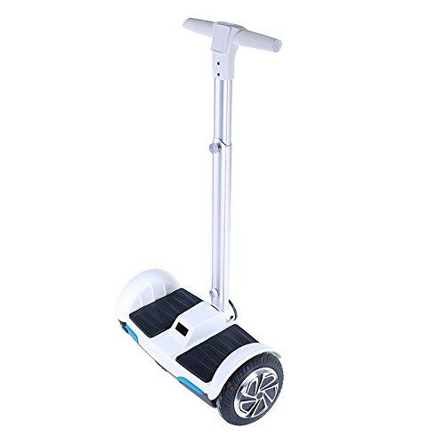 Monopatín Scooter Eléctrico Ruedas Km h Kg de carga Blanco