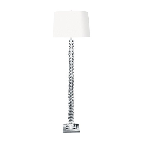 - Diamond Lighting 10005-LED Floor lamp Clear