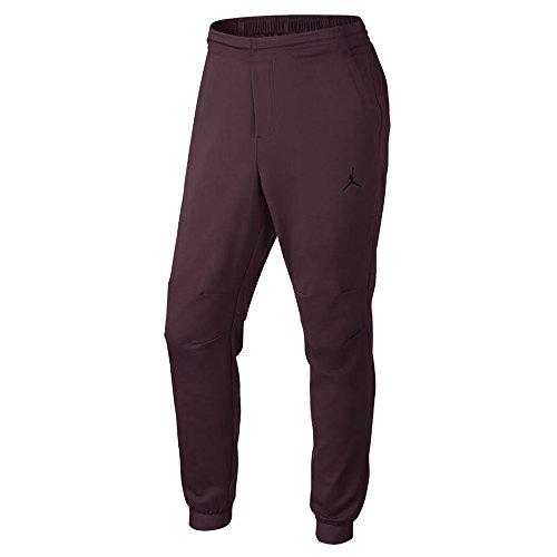 Jordan Mens 23 Lux Sweatpants XL Night Maroon/Black