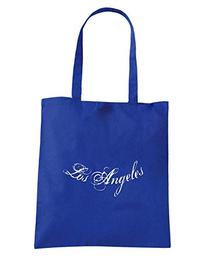 Borsa Shopper Royal Blu FUN0969 CBD LOS ANGELES LONG SLEEVE