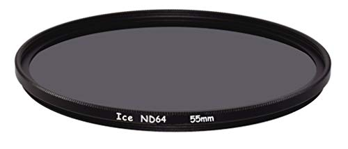 ICE 55mm ND64 Filter Neutral Density ND 64 55 6 Stop Optical Glass
