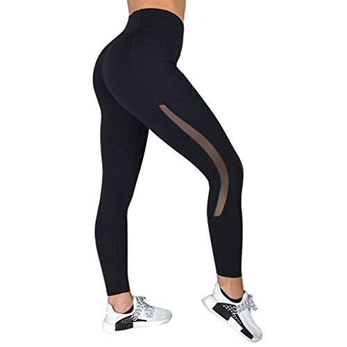 Portazai Women's Boot-Cut Yoga Pants Tummy Control Workout Non See-Through Bootleg Yoga Pants Black
