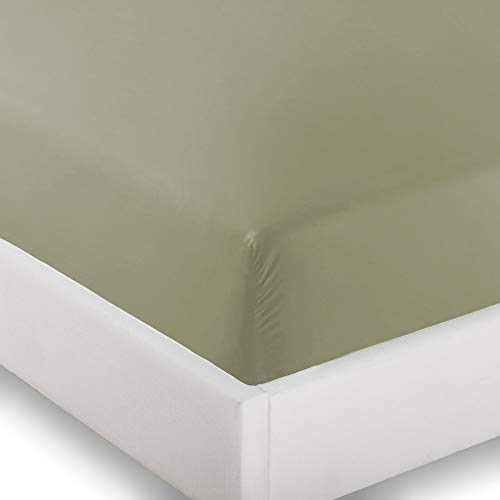 2 Twin XL Fitted Bed Sheets (2-Pack) - Twin Extra Long, 15 Deep Pocket, 39 x 80 (Twin XL, Sage)