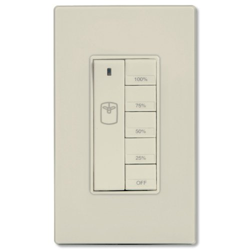 ON-Q Fan Controller - Rflc In Wall Rf Fan Speed Controller - Light Almond (DRD9-A) by Legrand-On-Q