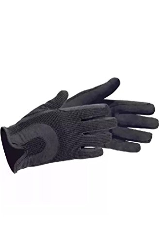 AFE Genuine Leather Horse Riding Gloves With Buckle Ladies Track Gloves Leather Equestrian