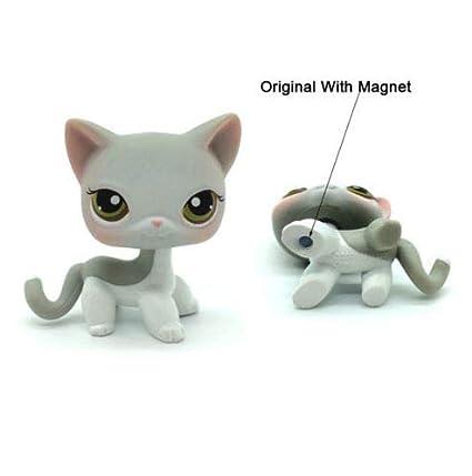 Amazon.com: Littlest Pet Shop LPS Juguetes Animales Figura ...