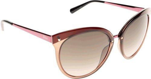 Dior Lunettes de soleil Dior Frozen 1 Pour Femme Brown / Fuchsia / Brown Gradient BCD/HA: Brown / Fuchsia