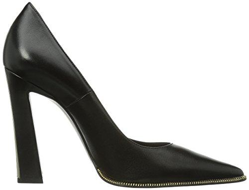Chaussures Napner plateau à Schwarz S6454 Noir 0 Sebastian avec Oro femme talons 5znqpFwFBx