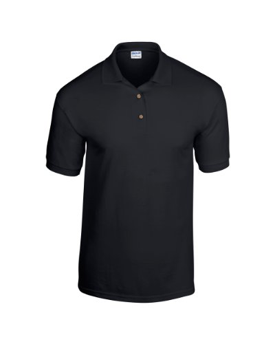 Gildan Ultra Cotton TM gekämmte ringgesponnene Piqué-Polo Erwachsenen XL,Schwarz
