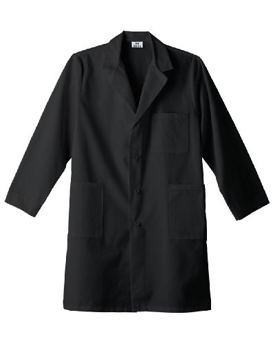 meta-mens-and-womens-unisex-40-inch-labcoat-with-three-outside-pockets-and-one-inside-pocket-black-x