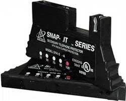 DITEK DTK-SL95B 95V - 66 Block SNAP ON Protection W/Diagnostic LED, for Analog Circuits Analog Circuits 66 Block