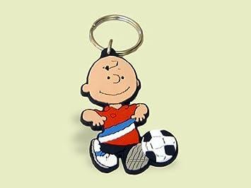 Schleich 22395 - Llavero, diseño de Charlie Brown de Snoopy ...
