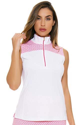Fairway & Greene Women's Flourishing Cate Golf Sleeveless Shirt XL