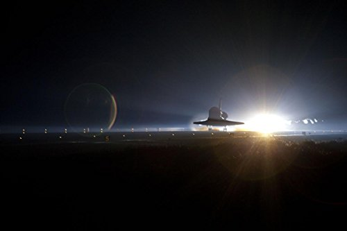 Gifts Delight Laminated 36x24 Poster STS-135 Space Shuttle Atlantis Makes its Final Landing 11 ()