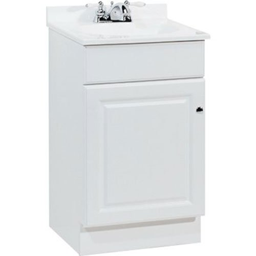 RSI HOME PRODUCTS SALES C14118A Richmond Durable White Finish Vanity, 19'' by 17'' by 35-1/4''