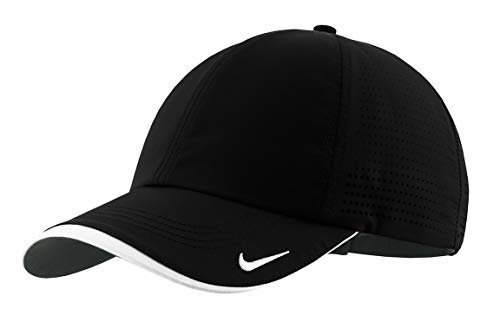 604fec208f Nike Golf - Dri-FIT Swoosh Perforated Cap , 429467, Black, No Size