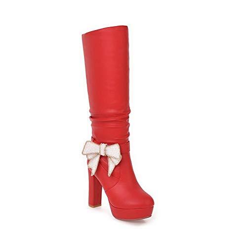 Plateforme Eu Abl12136 Balamasa 36 Femme 5 Rouge Red Tx5xAq18w