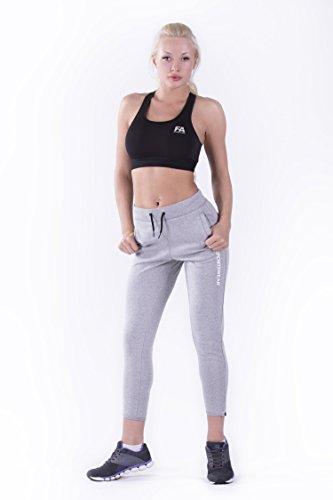 FA Sportswear Bra Woman Hardy Black–sportbh–Débardeur–entraînement Stop