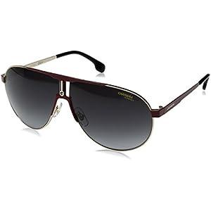 Carrera Men's Ca1005s Aviator Sunglasses, Red Gold/Dark Gray Gradient, 66 mm