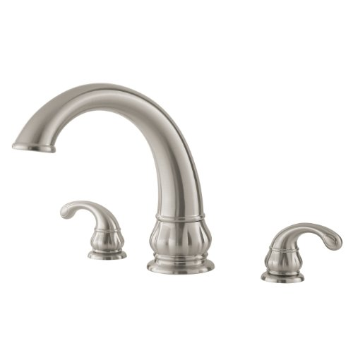 Pfister Treviso 2-Handle Roman Tub Faucet, Brushed Nickel - Treviso Shower Faucet