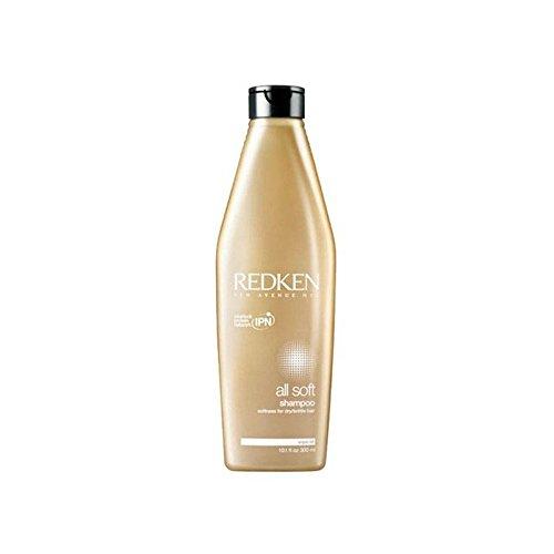 Redken All Soft Shampoo (300ml) (Pack of 6) - レッドケンすべてのソフトシャンプー(300ミリリットル) x6 [並行輸入品] B0727R6BL1