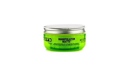 TIGI Bed Head Manipulator Matte Wax Gel for Unisex 2 Ounce (Pack of 2) (Wax Head Styling)