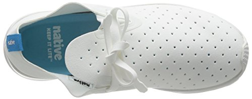 Shell Apollo Shell Unisex Native Moc Sneaker Fashion White Rubber White Shell 4SWfqwxZ