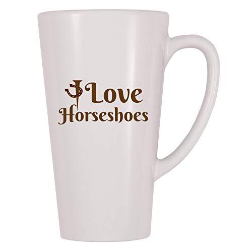 - 4 All Times I Love Horseshoes Coffee Mug (17 oz)