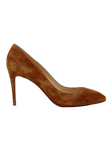 Christian Louboutin Luxury Fashion Womens Pumps Summer Brown