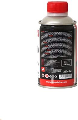 Massi Bicicleta, Deportes,liquidos de Freno, Rojo, 250 ml: Amazon ...