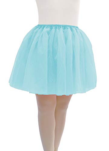 Dancina One Size Tutu for Women Regular 2-18 Light Blue