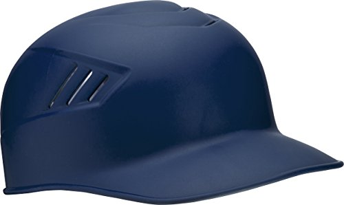 Rawlings Coolflo Matte Style Alpha Sized Base Coach Helmet, Navy, ()