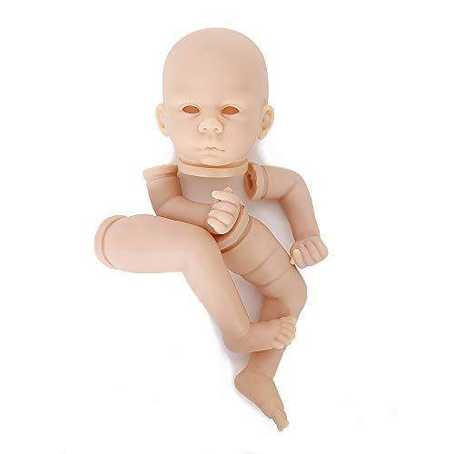 - OtardDolls Unpainted Reborn Doll Kits(Head,Limbs) Soft Vinyl Reborn Doll Kits Newborn Baby Model Set DIY Art,20-Inch