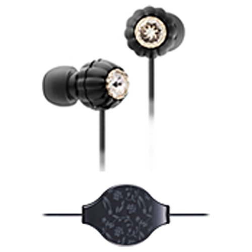 Hitachi Inner Ear Canal Headphone Black
